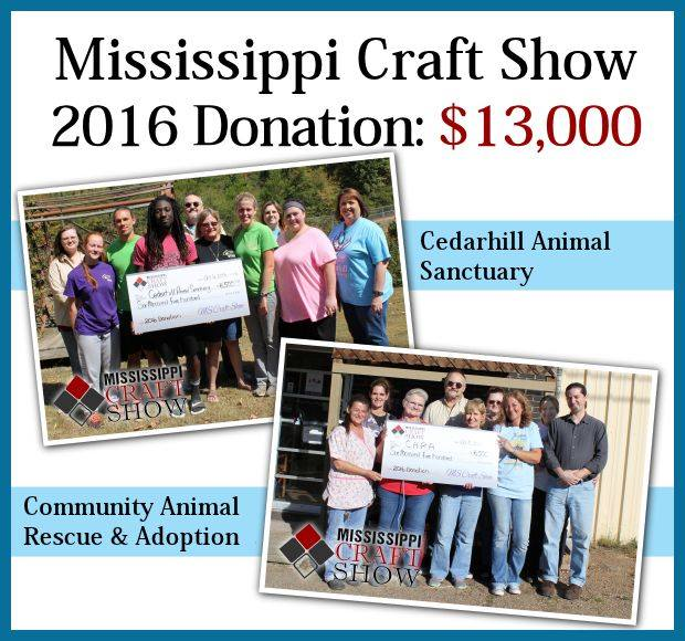 Mississippi Craft Show Donations