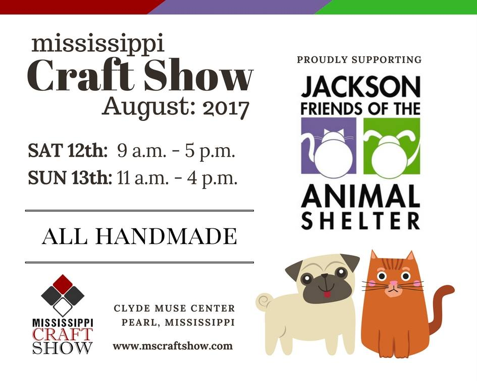 Mississippi Craft Show Charity Guest 2017